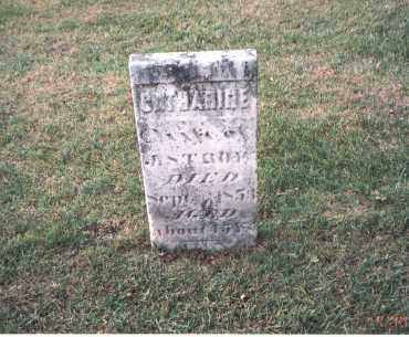 STRAW, CATHERINE - Franklin County, Ohio | CATHERINE STRAW - Ohio Gravestone Photos