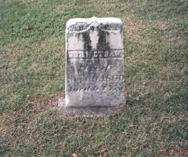 STRAW, JOHN - Franklin County, Ohio | JOHN STRAW - Ohio Gravestone Photos