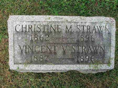 STRAWN, CHRISTINE M. - Franklin County, Ohio | CHRISTINE M. STRAWN - Ohio Gravestone Photos