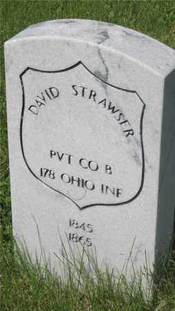 STRAWSER, DAVID - Franklin County, Ohio | DAVID STRAWSER - Ohio Gravestone Photos