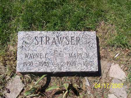 STRAWSER, MARY M - Franklin County, Ohio | MARY M STRAWSER - Ohio Gravestone Photos