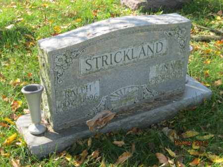 WEBER STRICKLAND, INA - Franklin County, Ohio | INA WEBER STRICKLAND - Ohio Gravestone Photos