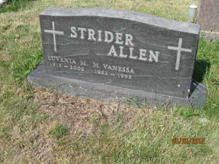 STRIDER, LUVENIA M - Franklin County, Ohio | LUVENIA M STRIDER - Ohio Gravestone Photos