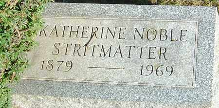 STRITMATTER, KATHERINE - Franklin County, Ohio | KATHERINE STRITMATTER - Ohio Gravestone Photos
