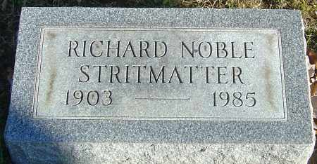 STRITMATTER, RICHARD NOBLE - Franklin County, Ohio | RICHARD NOBLE STRITMATTER - Ohio Gravestone Photos