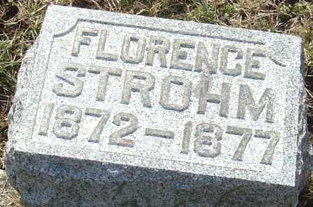 STROHM, FLORENCE - Franklin County, Ohio | FLORENCE STROHM - Ohio Gravestone Photos