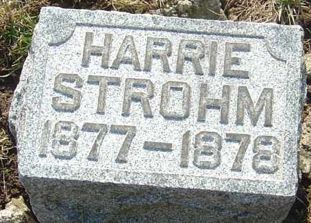 STROHM, HARRIE - Franklin County, Ohio | HARRIE STROHM - Ohio Gravestone Photos