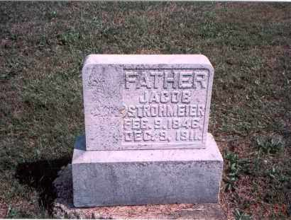STROHMEIER, JACOB - Franklin County, Ohio | JACOB STROHMEIER - Ohio Gravestone Photos