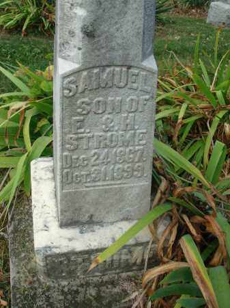 STROME, SAMUEL - Franklin County, Ohio | SAMUEL STROME - Ohio Gravestone Photos