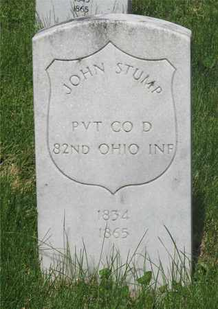 STUMP, JOHN - Franklin County, Ohio | JOHN STUMP - Ohio Gravestone Photos
