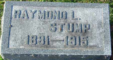 STUMP, RAYMOND L - Franklin County, Ohio | RAYMOND L STUMP - Ohio Gravestone Photos