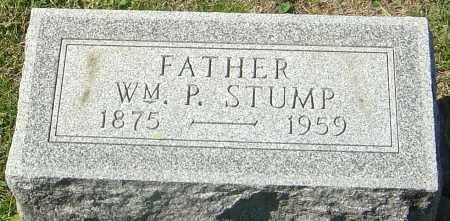 STUMP, WILLIAM P - Franklin County, Ohio | WILLIAM P STUMP - Ohio Gravestone Photos