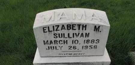 SULLIVAN, ELIZABETH M. - Franklin County, Ohio | ELIZABETH M. SULLIVAN - Ohio Gravestone Photos