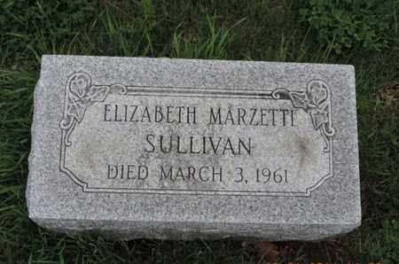 SULLIVAN, ELIZABETH - Franklin County, Ohio | ELIZABETH SULLIVAN - Ohio Gravestone Photos