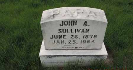 SULLIVAN, JOHN A. - Franklin County, Ohio | JOHN A. SULLIVAN - Ohio Gravestone Photos