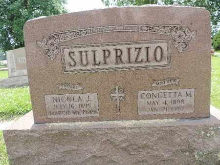 SULPRIZIO, NICOLA J. - Franklin County, Ohio | NICOLA J. SULPRIZIO - Ohio Gravestone Photos