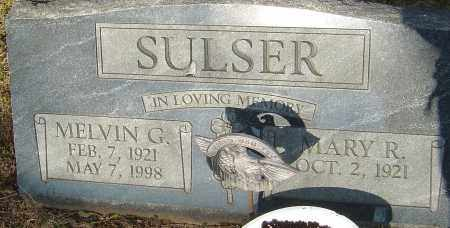 SULSER, MELVIN G - Franklin County, Ohio | MELVIN G SULSER - Ohio Gravestone Photos