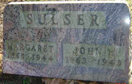 SULSER, JOHN H - Franklin County, Ohio | JOHN H SULSER - Ohio Gravestone Photos