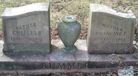 SUMMERS, CHARLES R - Franklin County, Ohio | CHARLES R SUMMERS - Ohio Gravestone Photos