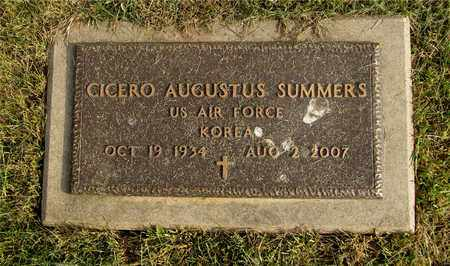 SUMMERS, CICERO AUGUSTUS - Franklin County, Ohio | CICERO AUGUSTUS SUMMERS - Ohio Gravestone Photos