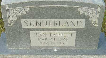 TRIPPETT SUNDERLAND, JEAN - Franklin County, Ohio | JEAN TRIPPETT SUNDERLAND - Ohio Gravestone Photos