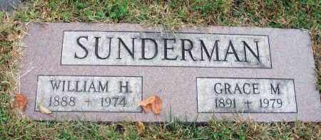 SUNDERMAN, WILLIAM H. - Franklin County, Ohio | WILLIAM H. SUNDERMAN - Ohio Gravestone Photos