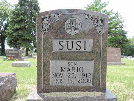SUSI, MARIO - Franklin County, Ohio | MARIO SUSI - Ohio Gravestone Photos