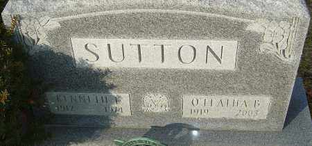 SUTTON, O'LEATHA B - Franklin County, Ohio | O'LEATHA B SUTTON - Ohio Gravestone Photos