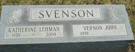 SVENSON, KATHERINE LEAH - Franklin County, Ohio | KATHERINE LEAH SVENSON - Ohio Gravestone Photos