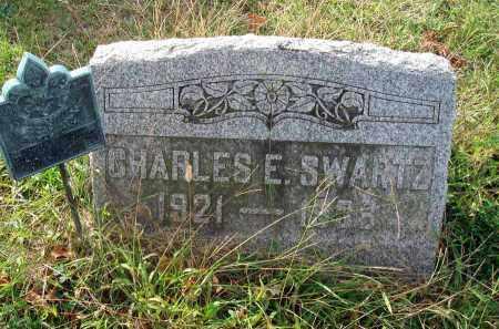 SWARTZ, CHARLES E. - Franklin County, Ohio | CHARLES E. SWARTZ - Ohio Gravestone Photos
