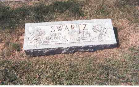 SWARTZ, OTIE E. - Franklin County, Ohio | OTIE E. SWARTZ - Ohio Gravestone Photos