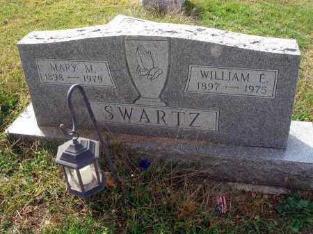SWARTZ, WILLIAM E. - Franklin County, Ohio | WILLIAM E. SWARTZ - Ohio Gravestone Photos