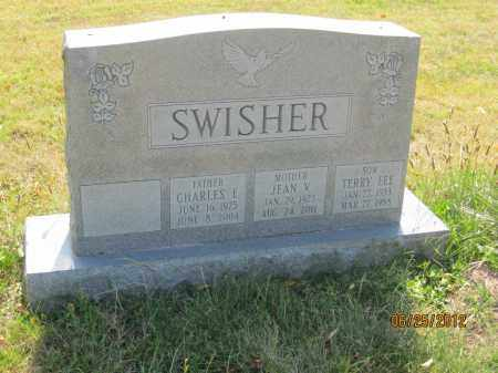 SWISHER, JEAN V - Franklin County, Ohio | JEAN V SWISHER - Ohio Gravestone Photos