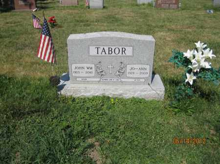 TABOR, JOHN WILLIAM - Franklin County, Ohio | JOHN WILLIAM TABOR - Ohio Gravestone Photos