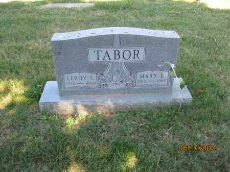 TABOR, MARY E - Franklin County, Ohio | MARY E TABOR - Ohio Gravestone Photos