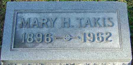 TAKIS, MARY H - Franklin County, Ohio | MARY H TAKIS - Ohio Gravestone Photos