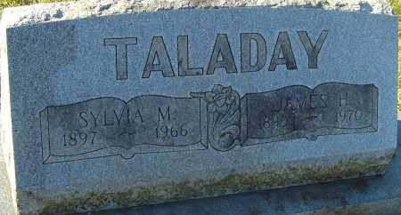 TALADAY, SYLVIA M - Franklin County, Ohio | SYLVIA M TALADAY - Ohio Gravestone Photos