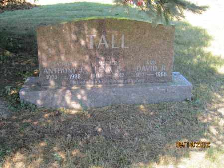 TALL, ANTHONY J - Franklin County, Ohio | ANTHONY J TALL - Ohio Gravestone Photos