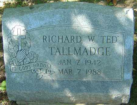"TALLMADGE, RICHARD W ""TED"" - Franklin County, Ohio 