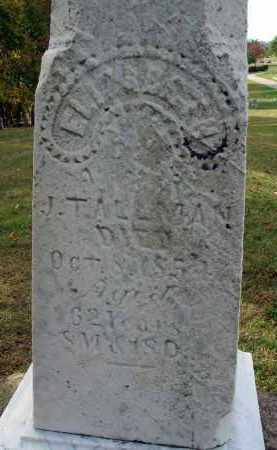 TALLMAN, ELIZABETH - Franklin County, Ohio | ELIZABETH TALLMAN - Ohio Gravestone Photos