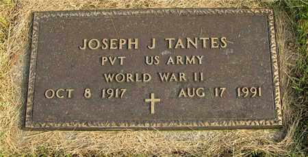 TANTES, JOSEPH J. - Franklin County, Ohio | JOSEPH J. TANTES - Ohio Gravestone Photos