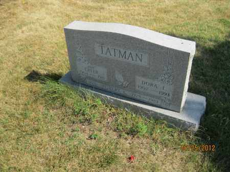 GRAVES TATMAN, DORA L - Franklin County, Ohio | DORA L GRAVES TATMAN - Ohio Gravestone Photos