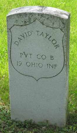 TAYLOR, DAVID - Franklin County, Ohio | DAVID TAYLOR - Ohio Gravestone Photos