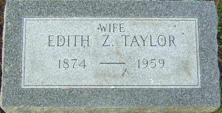 TAYLOR, EDITH Z - Franklin County, Ohio | EDITH Z TAYLOR - Ohio Gravestone Photos