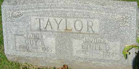 TAYLOR, GUY ROLLAND - Franklin County, Ohio | GUY ROLLAND TAYLOR - Ohio Gravestone Photos