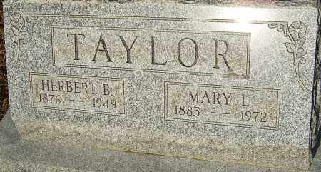 TAYLOR, MARY LOUISE - Franklin County, Ohio | MARY LOUISE TAYLOR - Ohio Gravestone Photos