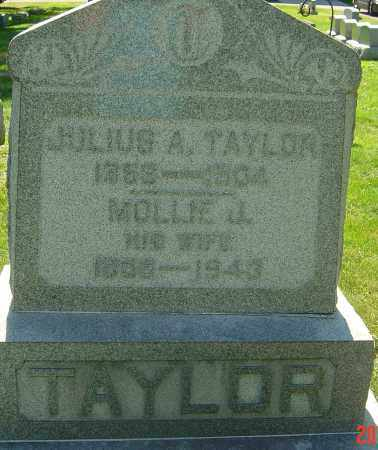 TAYLOR, MOLLIE JANE - Franklin County, Ohio | MOLLIE JANE TAYLOR - Ohio Gravestone Photos