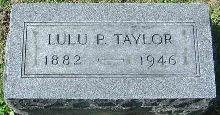 WILLIAMS TAYLOR, LULU PEARL - Franklin County, Ohio | LULU PEARL WILLIAMS TAYLOR - Ohio Gravestone Photos