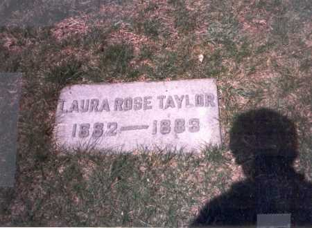 TAYLOR, LAURA ROSE - Franklin County, Ohio | LAURA ROSE TAYLOR - Ohio Gravestone Photos