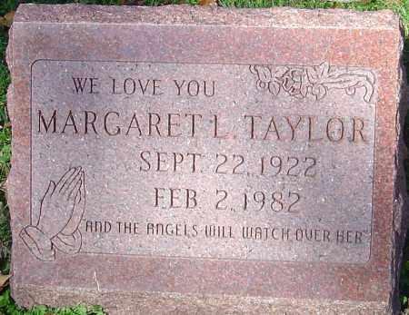 TAYLOR, MARGARET L - Franklin County, Ohio | MARGARET L TAYLOR - Ohio Gravestone Photos